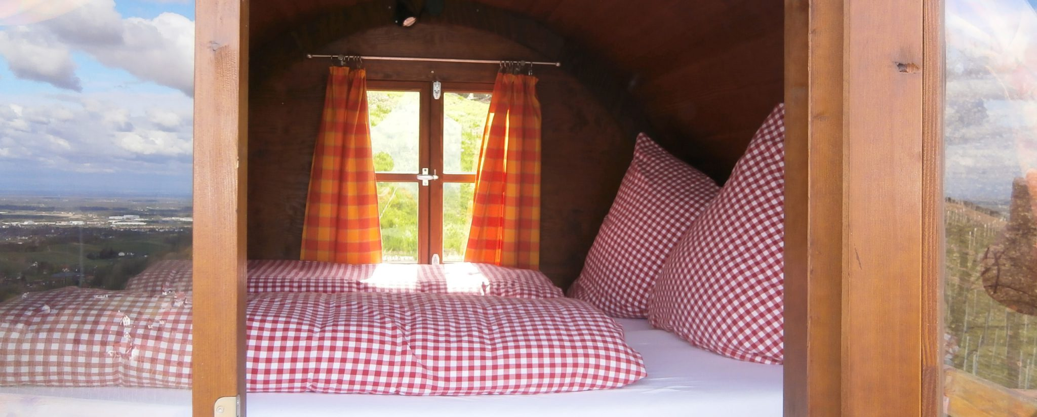 Schlafen im Weinfass Sasbachwalden, Schwarzwald, Erlebnis