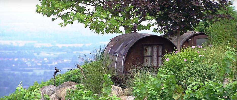 Schlafen im Weinfass Sasbachwalden, Schwarzwald, Erlebnis ...